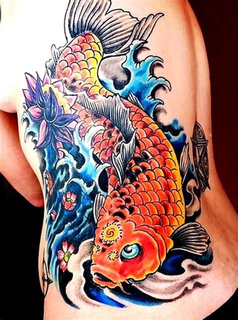 carpe koi signification 1001 id 233 es irezumi ou le tatouage japonais traditionnel