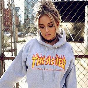 Unisex thrasher Hoodies (preorder) Womenu0026#39;s Fashion Clothes Tops on Carousell