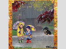 Herbstwetter Regenwetter Picture #130441149 Blingeecom
