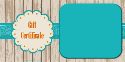 free printable photography gift certificate template printable gift certificate templates
