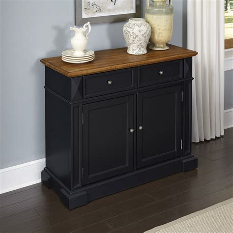 Sideboards And Buffets by Home Styles Black And Oak Americana Buffet Home