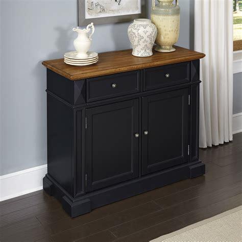 Oak Kitchen Sideboard by Home Styles Black And Oak Americana Buffet Home
