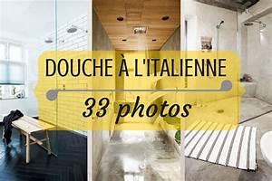 Douche italienne : 33 photos de douches ouvertes