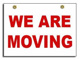We Are Moving Sign | United Way of Roanoke Valley