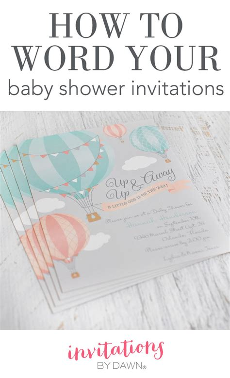 word for shower how to word your baby shower invitations invitations by
