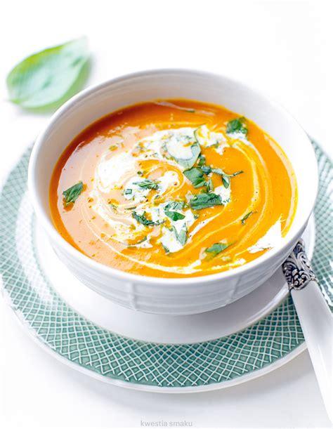 Zupa dyniowa z curry | Kwestia Smaku