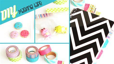 Diy # 5 Idées De Customisation Avec Du Masking Tape