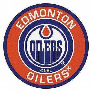FANMATS NHL Edmonton Oilers Orange 2 ft 3 in x 2 ft 3