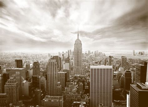 wall mural skyline  york city photo wallpaper  wall
