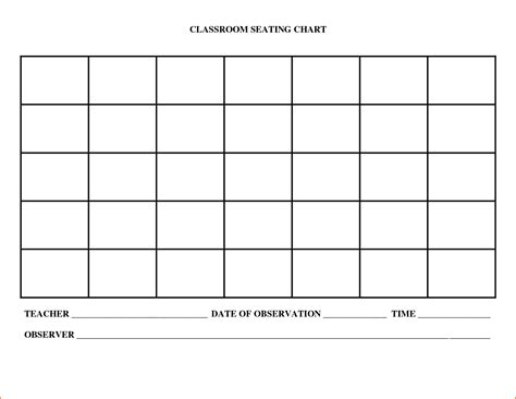 House Chart Template by Free Printable Blank Charts Free Printables