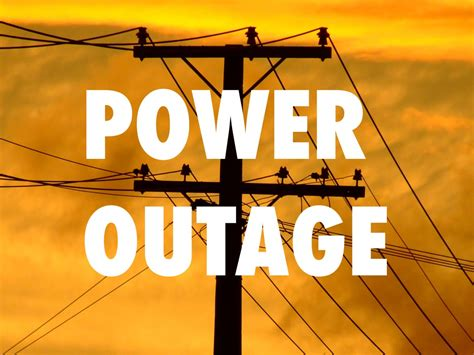 Power Outage Update  Allentown Association