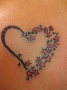 Finger Tattoo Herz : tattoo sterne 49 einzigartige trendy ideen f r t towierungen ~ Frokenaadalensverden.com Haus und Dekorationen