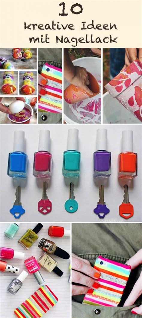 10 kreative ideen mit nagellack cooletipps de