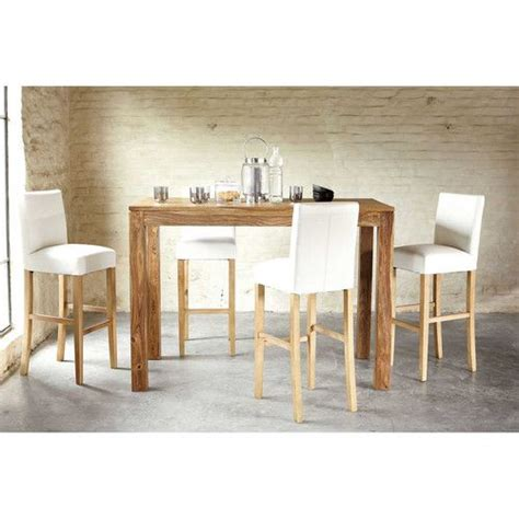 table haute de salle a manger 17 best ideas about table haute bois on table haute bar table bar cuisine and table