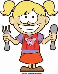 Hungry Girl Clipart - ClipartXtras