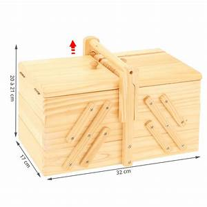 Petite Boite En Bois : bo te couture en bois travailleuse rangement ~ Teatrodelosmanantiales.com Idées de Décoration