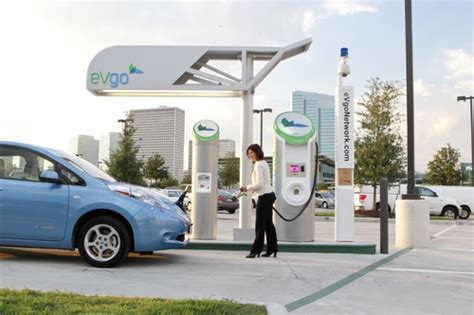 electric vehicles charging stations the evgo electric car charging station plans as told by