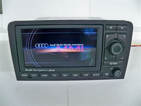 gps audi a3 s3 rs3 8p rns e navigation plus 192 q s cd tv lcd cartographie 2017