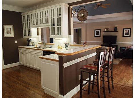 Blue Kitchen Walls With Brown Cabinets by Kitchen Wall Color Inspiration Saddle Brown Walls Since