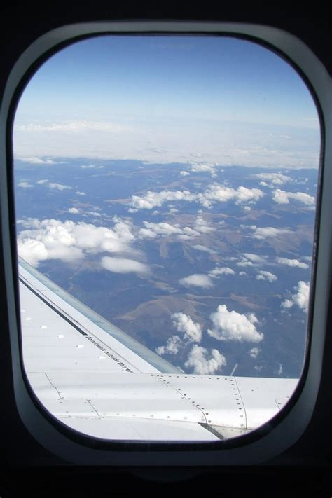 Image For Airplane Window From Inside Aiesec Pinterest