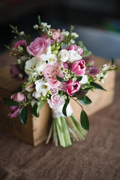 Just Picked Posy in Pink Wedding Bouquet Recipe Aisle
