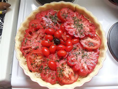 comment cuisiner le coeur de boeuf en tranche tarte au thon et aux trois tomates bien dans ma cuisine