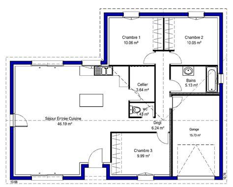 modèle plan d angela contemporaine maisons lara