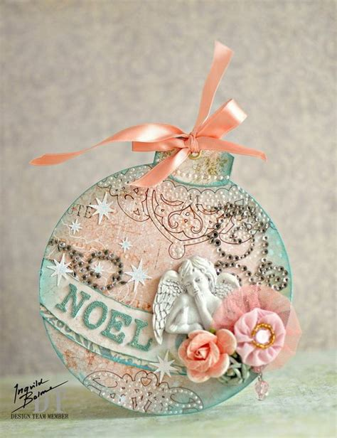 awesome shabby chic christmas decorations