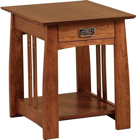 mission style  table plans woodworking projects plans