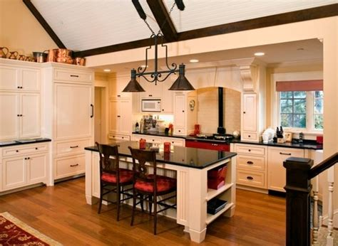 kitchen cabinets with light island smart island lighting rustic black copper chandelier for 9539