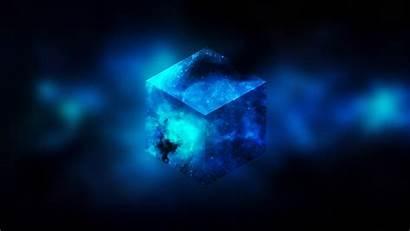 3d Cube Abstract Space Minimalist Minimalism Hexagon