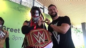 Finn Bálor meets The Demon King in Singapore - YouTube