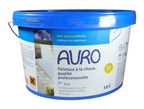 peinture professionnelle pour plafond auro peinture 224 la chaux professionnelle int 233 rieux ext 233 rieur 10l n 176 344 3447000 rev 234 tement