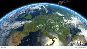 Europe From Space. Earth From Space Stock Animation | 9086976