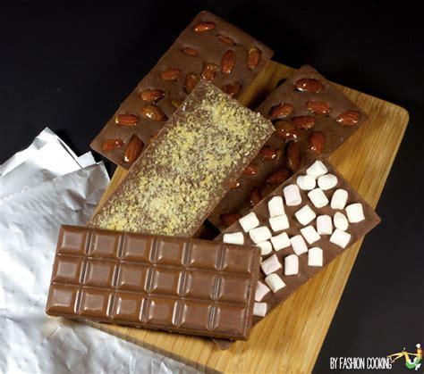 tablette pour recette de cuisine tablettes de chocolat maison recette de cuisine