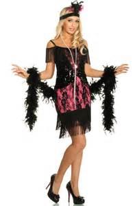 flapper headbands 1920 39 s flapper costume black and pink flapper dress