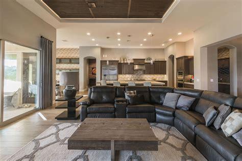 gilbert warm contemporary interior design by interiors