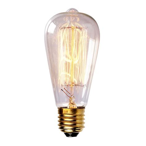 incandescent bulbs vintage tungsten filament edison light