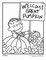 Coloring Peanuts Thanksgiving Snoopy Halloween Cartoon Popular sketch template