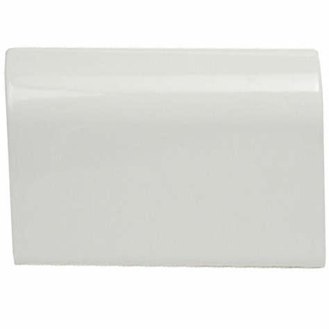 u s ceramic tile color collection bright snow white 2 in