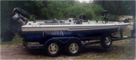Walleye Boat Bumpers by Johnson Has This Chion Boat For Sale From