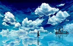 Blue Sky Realm HD Wallpapers