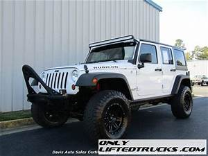 2012 Jeep Wrangler Unlimited Rubicon Manual Trans Lifted