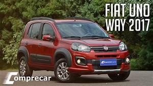 Fiat Uno Way 2017  Com Novo Motor 1 3 Firefly