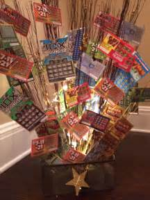 Good Bridal Shower Prizes by Lottery Ticket Basket Crafty Amp Creative Pinterest