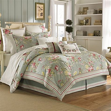 Laura Ashley® Eloise Comforter Set  Bed Bath & Beyond