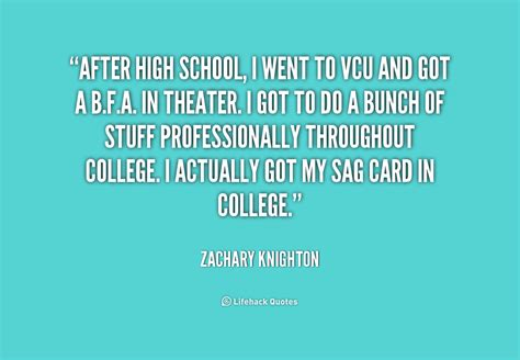 Inspirational Quotes About Life After High School