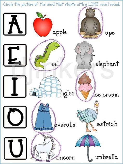 long vowels short vowels worksheet alphabet images