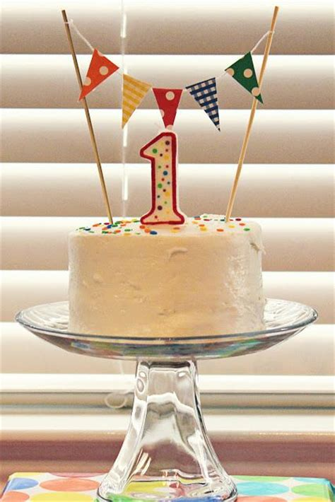 25+ Best Ideas About Simple First Birthday On Pinterest