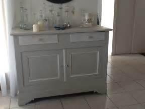 Patiner Un Meuble En Gris Gustavien by Nouvelle Vie D Un Buffet Louis Philippe En Style Gustavien